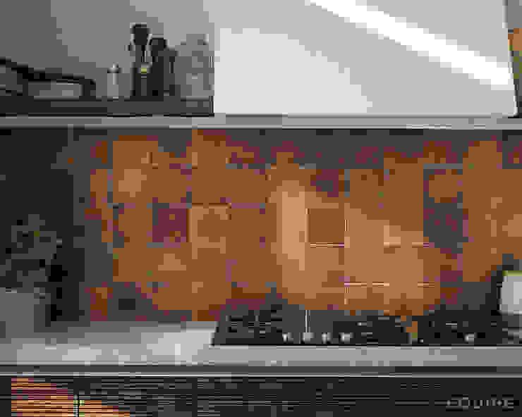Equipe Ceramicas Mediterranean style kitchen Ceramic Amber/Gold