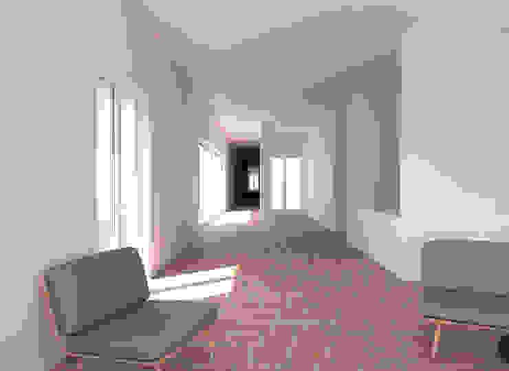 現代風玄關、走廊與階梯 根據 goodmood - Soluções de Habitação 現代風