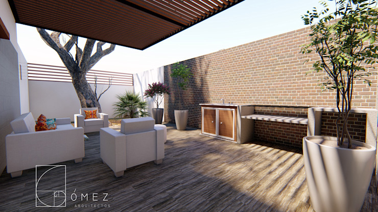 Terrace by GóMEZ arquitectos