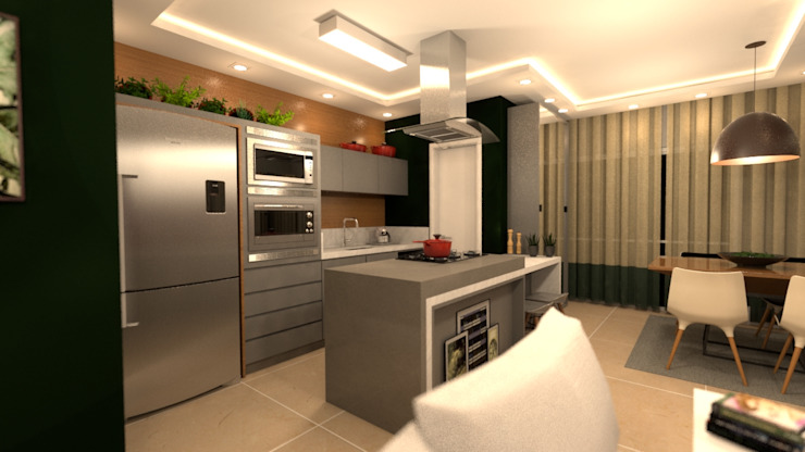 Built-in kitchens by Revisite,