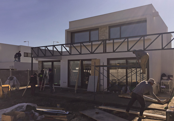 Quincho San Anselmo, 30m2, Chicureo de m2 estudio arquitectos - Santiago Mediterráneo