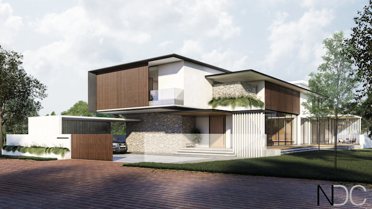MINES RESORT HOUSE NDC DESIGN Modern houses