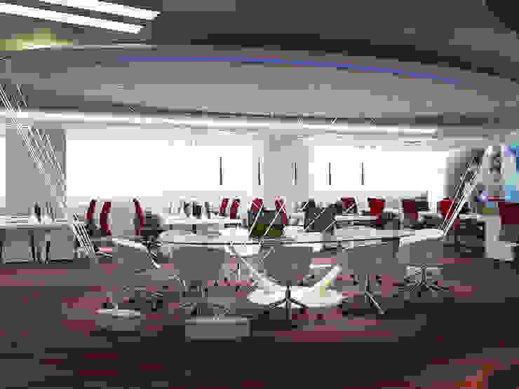 Collaborative area Norm designhaus Modern office buildings