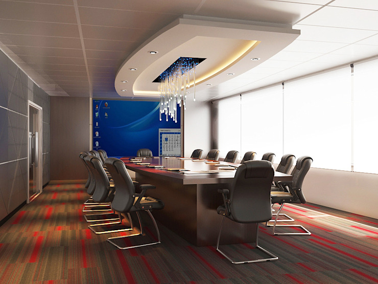 conference room Norm designhaus Modern office buildings