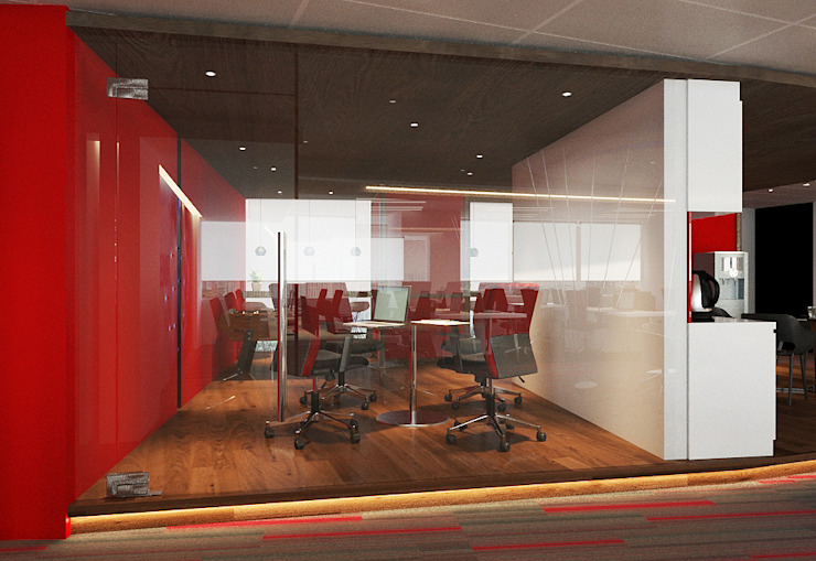 discussion room Norm designhaus Modern office buildings
