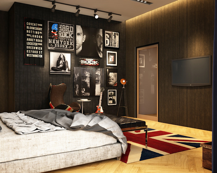 Norm designhaus Classic style bedroom