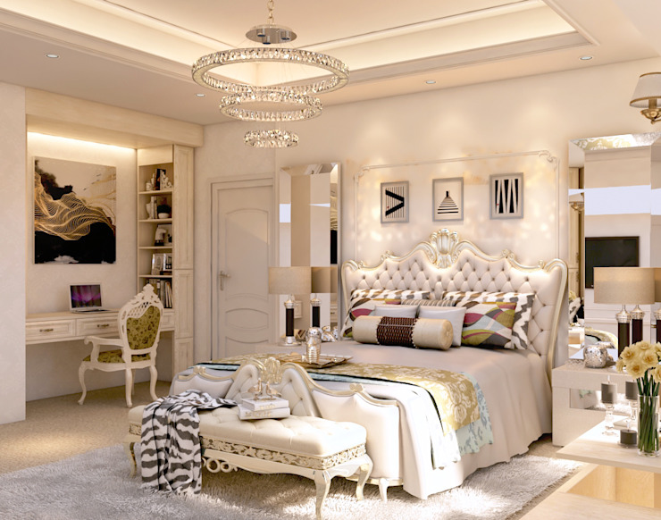 Luxury Bungalow Classic style bedroom by Norm designhaus Classic