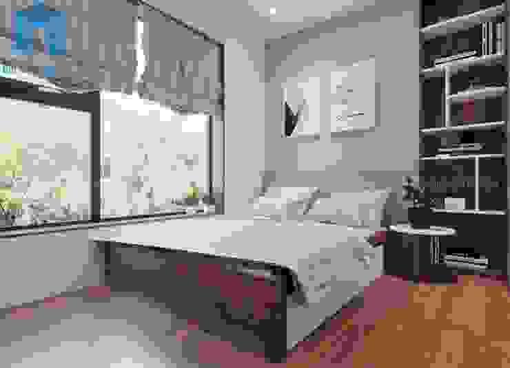 phòng ngủ nhỏ cho con trai bởi Công ty TNHH Nội Thất Mạnh Hệ Hiện đại