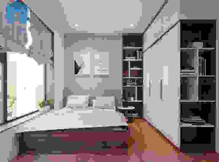 Giường ngủ nhỏ cho con trai bởi Công ty TNHH Nội Thất Mạnh Hệ Hiện đại