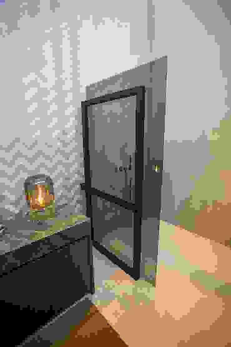 Black Steel Open van DEK-Design Industriële badkamers van De Eerste Kamer Industrieel IJzer / Staal