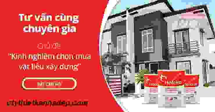 Lựa chọn vật liệu xây dựng Phòng khách phong cách châu Á bởi Cong-ty-tnhh-xd-tk-tm-gia-lac Châu Á
