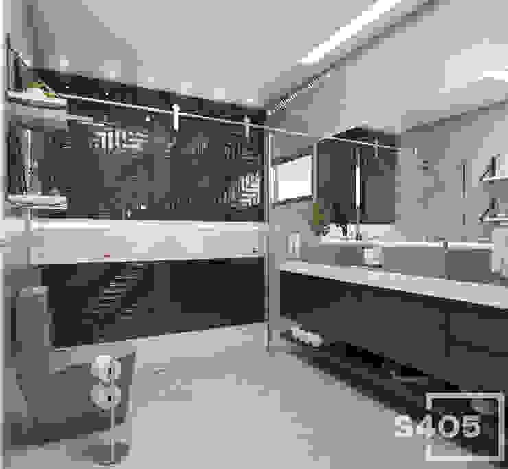 Modern Bathroom by STUDIO 405 - ARQUITETURA & INTERIORES Modern