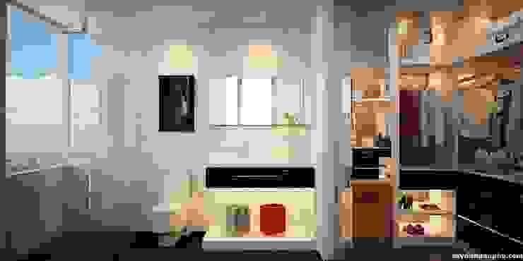 Thông tin chi tiết về dự án thiết kế căn hộ chị Diệp dự án Masteri Thảo Điền: Châu Á  by TNHH xây dựng và thiết kế nội thất AN PHÚ CONs 0911.120.739, Châu Á Cục đá