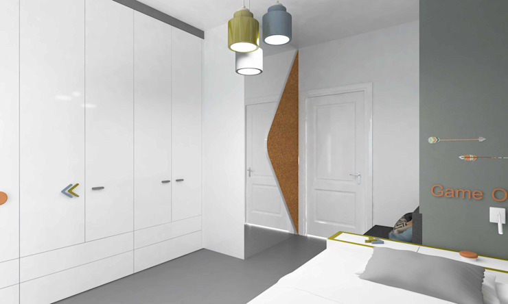 Bosnalı Kids Room Pebbledesign / Çakıltașları Mimarlık Tasarım Modern