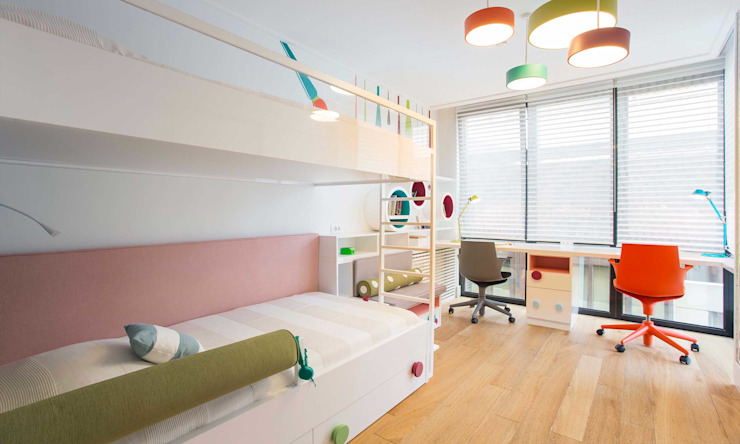 Pebbledesign / Çakıltașları Mimarlık Tasarım Girls Bedroom