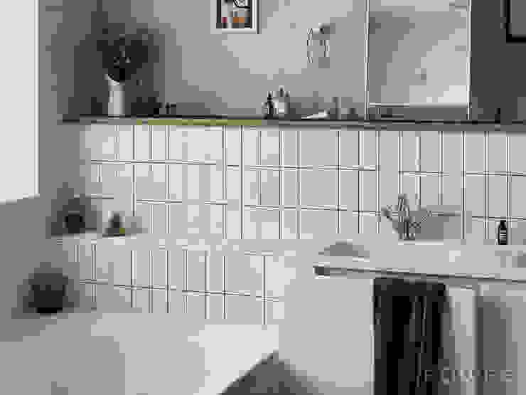 Evolution Baños de estilo moderno de Equipe Ceramicas Moderno Cerámico
