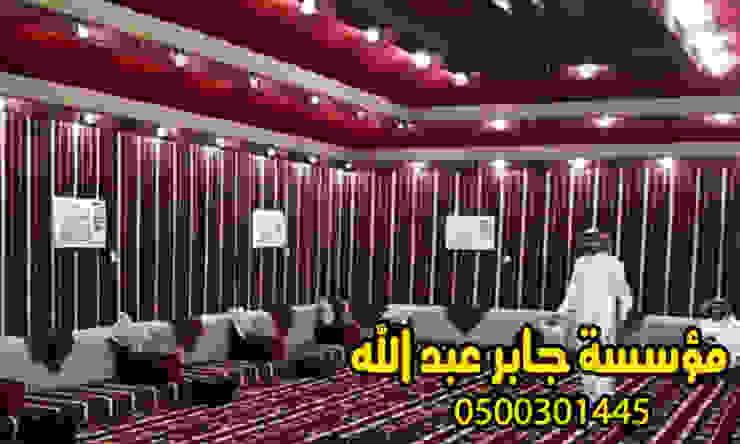 بيوت شعر المجالس بيوت شعر من الداخل والخارج0500301445: ريفي  تنفيذ هناجر ومستودعات جابر عبد الله, بلدي الخشب هندسيا Transparent