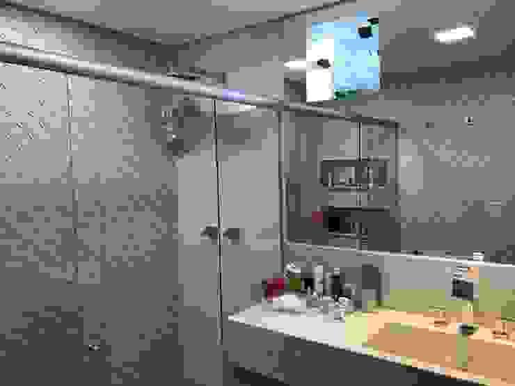 Reforma Bairro São Bento Marcelo Sena Arquitetura Banheiros clássicos