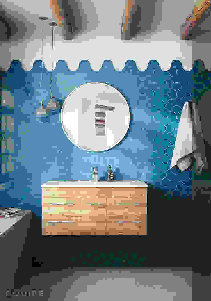 Scale Alhambra Baños de estilo moderno de Equipe Ceramicas Moderno Cerámico