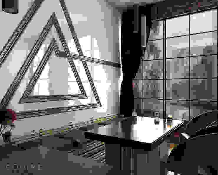 Scale Triangolo Comedores de estilo moderno de Equipe Ceramicas Moderno Cerámico