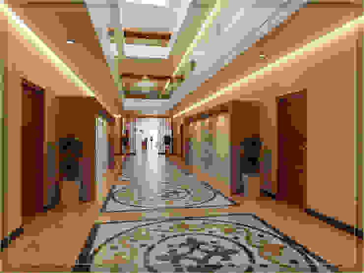 Hotel in stile rustico di Arsitekpedia Rustico