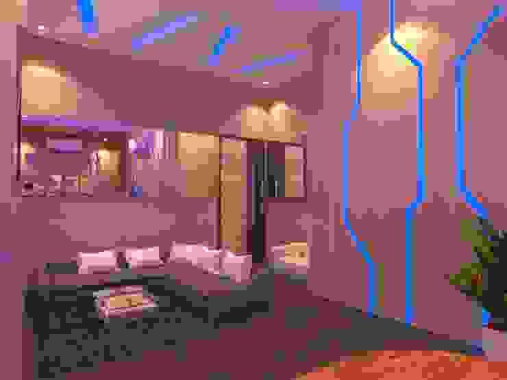 Nowoczesny pokój multimedialny od Arsitekpedia Nowoczesny
