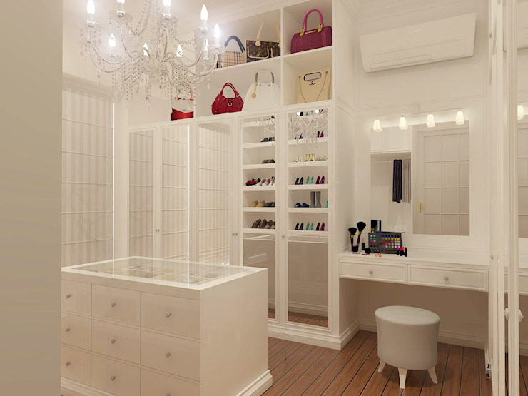 Modern Dressing Room by Arsitekpedia Modern