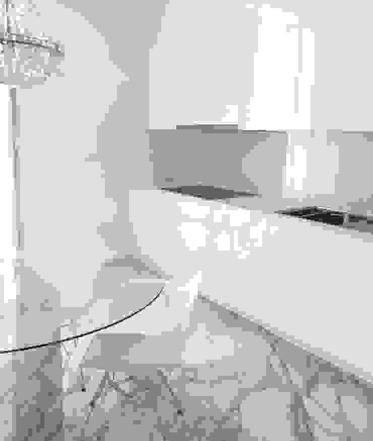 Chiado Apartment - Funcionalidade e Elegância Cozinhas modernas por IN PACTO Moderno Mármore