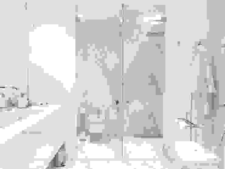 Chiado Apartment - Funcionalidade e Elegância Casas de banho modernas por IN PACTO Moderno Mármore
