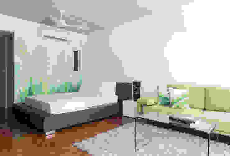 Daniel Cota Arquitectura | Despacho de arquitectos | Cancún Minimalist bedroom Concrete White