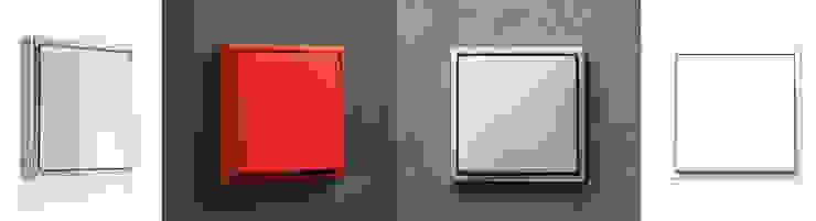 Moderne Arbeitszimmer von WITHJIS(위드지스) Modern Aluminium/Zink