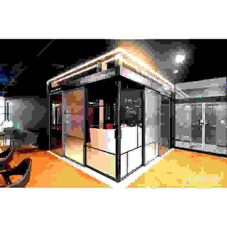 위드지스 청주전시장 모던스타일 서재 / 사무실 by WITHJIS(위드지스) 모던 알루미늄 / 아연
