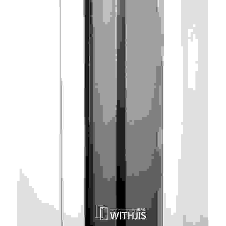 측면 문선 모던스타일 복도, 현관 & 계단 by WITHJIS(위드지스) 모던 알루미늄 / 아연