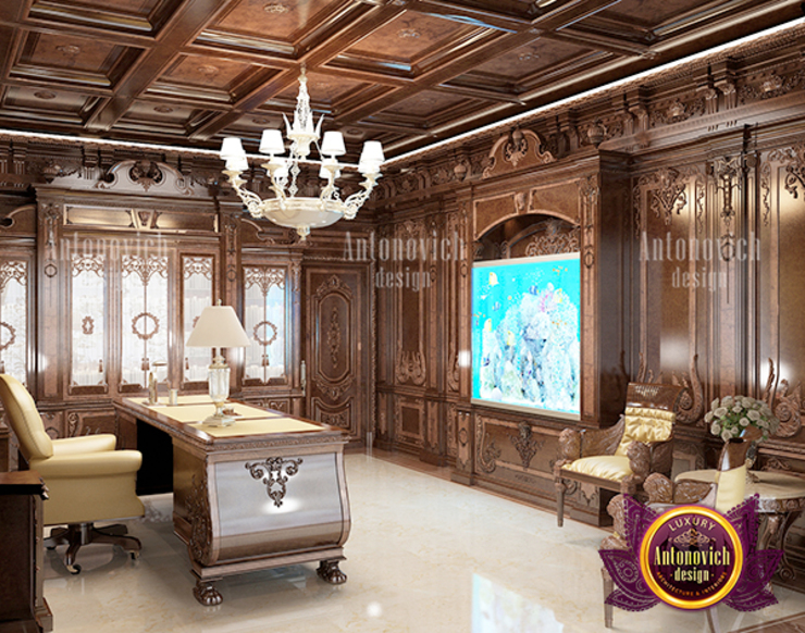 Superb Luxurious Meeting Room by Luxury Antonovich Design