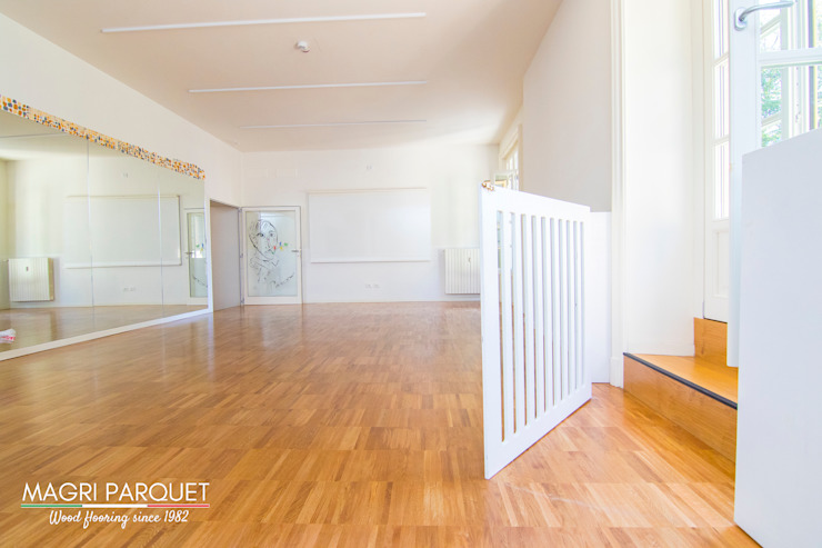 Magri Parquet Modern gym Engineered Wood Brown