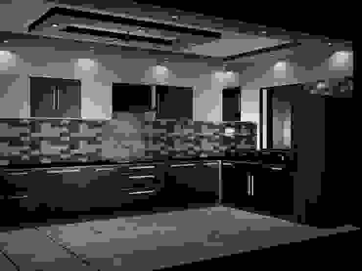 Interiors EVEN SIGHTS ARCHITECTS Asian style kitchen