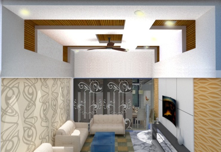 Interiors EVEN SIGHTS ARCHITECTS Asian style dining room