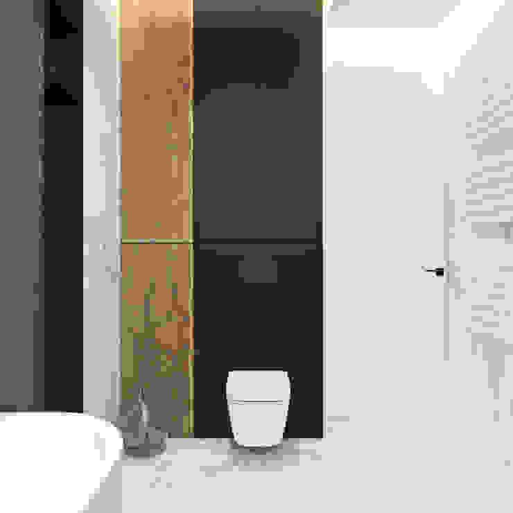 Wnętrza domu w Krakowie Ambience. Interior Design Nowoczesna łazienka