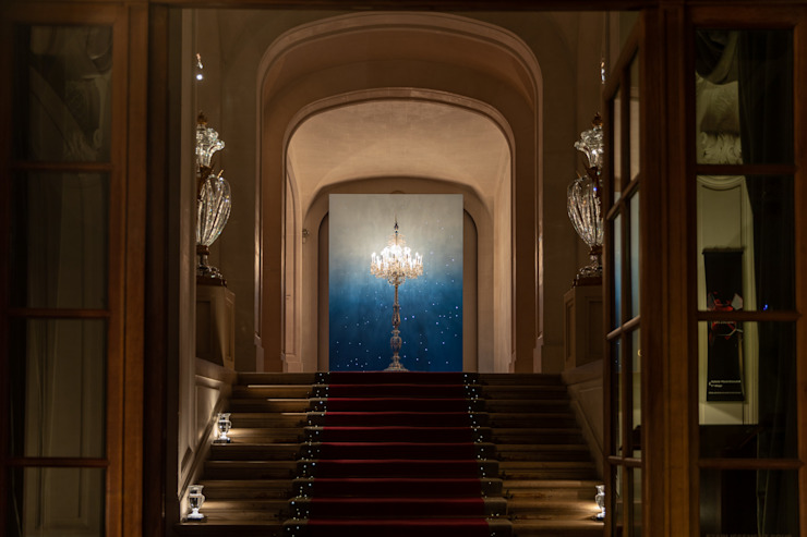 The art of Paris Luxury Classic style corridor, hallway and stairs by Squared Sphere Classic