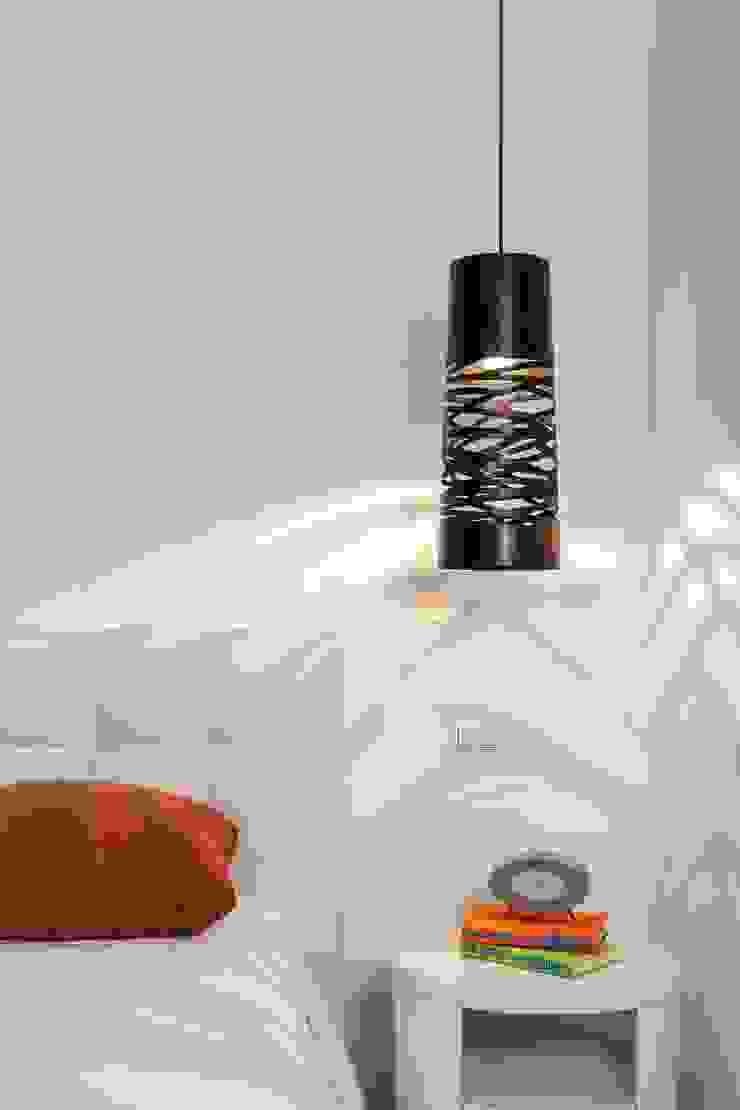 Daniel Cota Arquitectura | Despacho de arquitectos | Cancún BedroomLighting Iron/Steel Black
