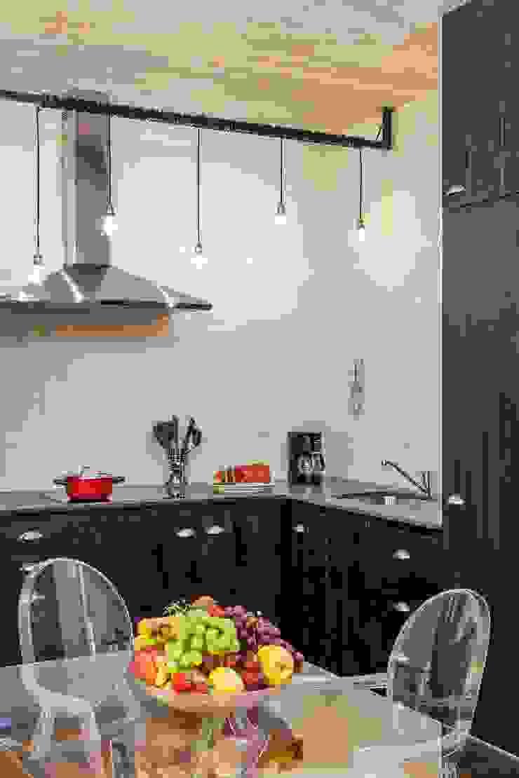 Daniel Cota Arquitectura | Despacho de arquitectos | Cancún Built-in kitchens Wood Black