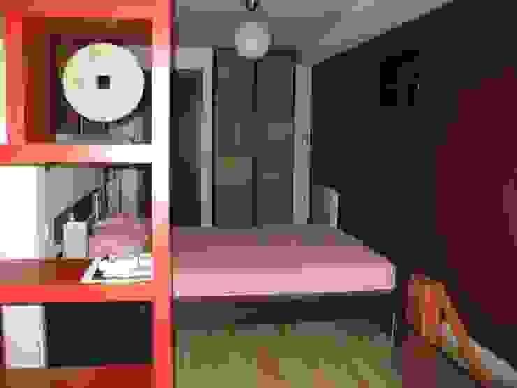 Dormitorio Dormitorios de estilo industrial de Almudena Madrid Interiorismo, diseño y decoración de interiores Industrial