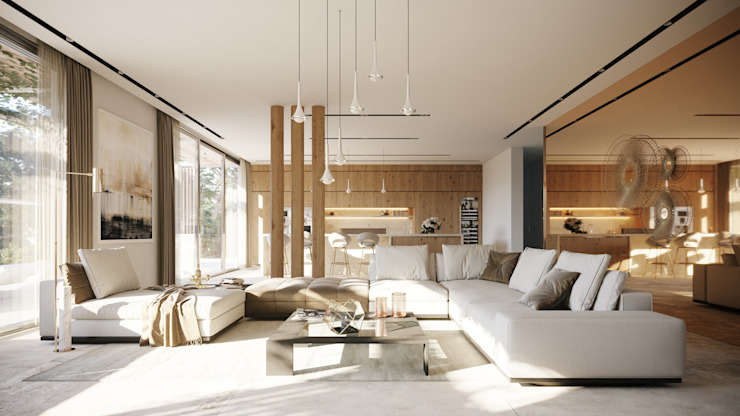Living room by TABARQ,