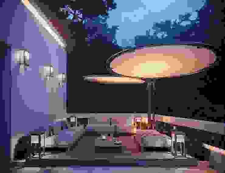 Mediterranean style balcony, veranda & terrace by TABARQ Mediterranean