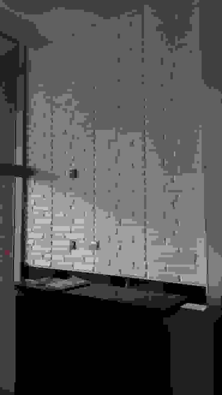 Suministro PANEL 3D FIBRA VEGETAL - Hotel Hampton By Hilton Bogota Airport de TITAN DECKO Moderno