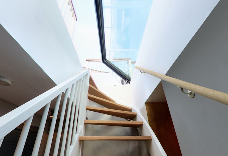 Trap en glazen dakluik voor dakterras - STAKA TopLight van Staka Premium Minimalistisch