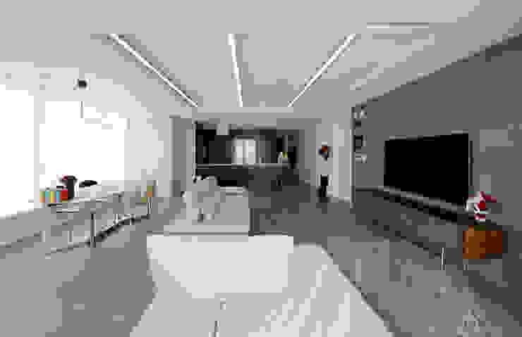 غرفة المعيشة تنفيذ 디자인 아버, حداثي