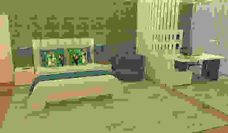 Casactiva Interiores Modern style bedroom Beige