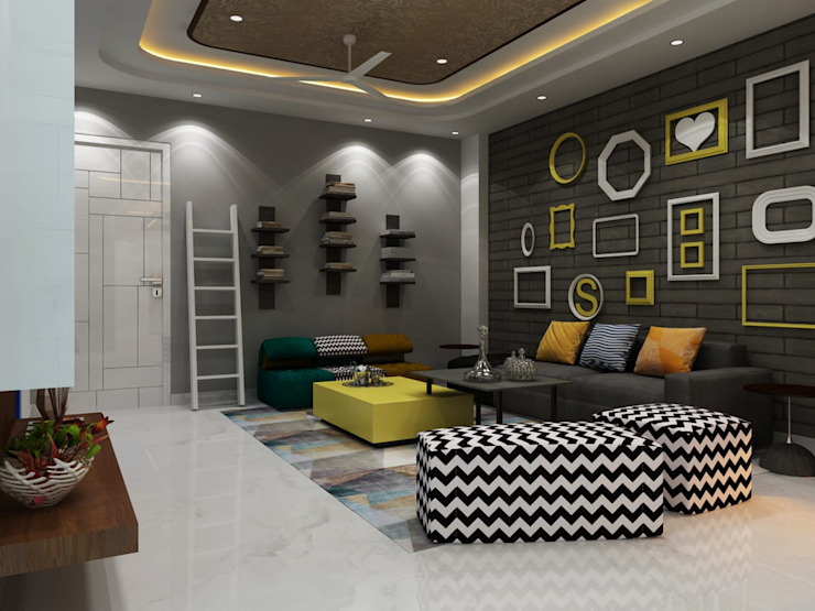 Living room by MAG Consultancy