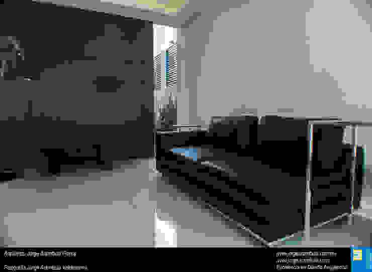 Casa N1 Salones minimalistas de Excelencia en Diseño Minimalista